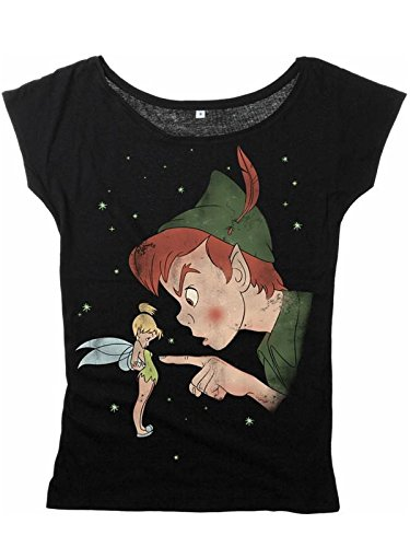 Walt Disney Tinkerbell - Hey You Maglia donna nero XL
