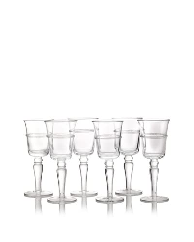 Juniper Goblet, 10 Oz. Set of 4, Clear