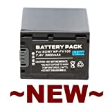Replacement Rechargeable Battery Pack for Sony Handycam DCR-HC16 DCR-HC16E DCR-HC17 DCR-HC17E DCR-HC18 DCR-HC18E DCR-HC19E DCR-HC20 DCR-HC20E DCR-HC21 DCR-HC21E