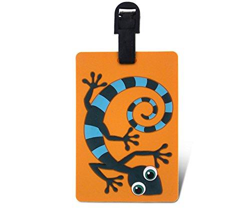 WeGlow International Fun Luggage Tag - Gecko - 1