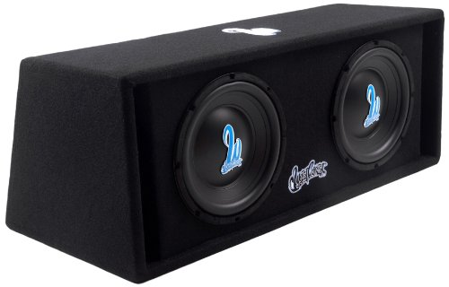 West Coast Customs Wcc210A 500-Watt Dual 10-Inch Vacuum Formed Poly Coned Subwoofers - Set Of 2