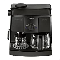 Braun Coffee Makers: Krups XP1500 Coffee Maker, Espresso Combo