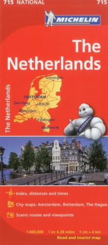 Michelin Netherlands Map MH715 (Maps/Country (Michelin))