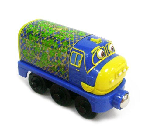 Chuggington Wooden Railway Camouflage Brewster - 1