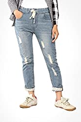Trendybella Womens Slim Fit Jeans_8011-30_Blue_30