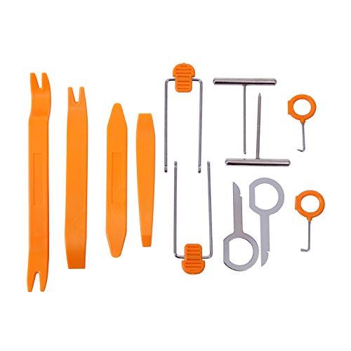 HDE 12 pcs Auto Pry Tools Kit Door Trim Panel Dash Stereo Radio Interior Light Removal (Interior Trim Tool compare prices)