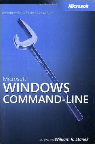 Microsoft® Windows® Command-Line Administrator's Pocket Consultant (Pro - Administrator's PC)