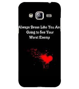 Axes Premium Designer Back Cover for Samsung Galaxy J3 (2016) (-d632