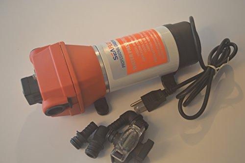 Seaflo 110v Water Pressure Pump 17.0 L/m 4.5gpm 40psi Motor Home / Caravan / Boat