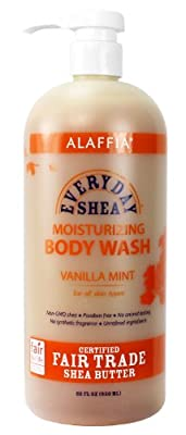 Alaffia Everyday Shea Moisturizing Body Wash, 32 oz