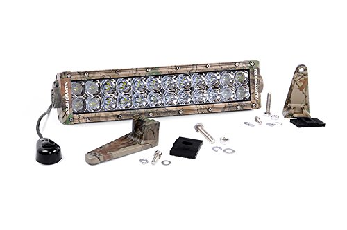 Rough Country 73912 - 12-Inch Dual Row Camo Cree Led Light Bar For Anywhere You Can Mount It