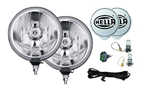 HELLA 5750941 500FF Series 12-Volt/55-Watt Halogen Driving Lamp Kit (Fun Cubed)