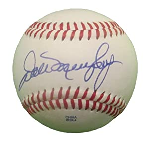 Dale Murphy Autographed Signed ROLB Baseball, Atlanta Braves, Proof Photo