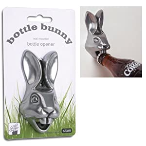 BOTTLE Bunny RABBIT teeth Wall BOTTLE Opener wall NEW