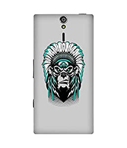 Tribal Ape Sony Xperia S Case