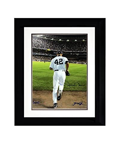 Steiner Sports Memorabilia Framed Mariano Rivera 2006 Entering The Game Color Signed Photo Signed By...