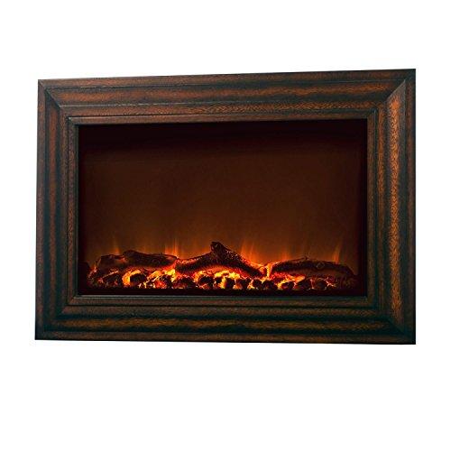 Fire Sense Wood Mdf Wall Mounted Electric Fireplace