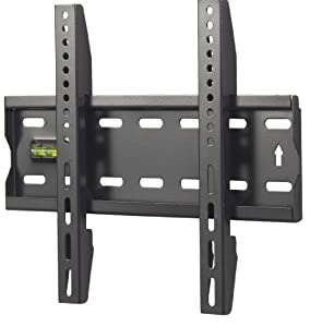 "VonHaus by Designer Habitat Basics Ultra Slim TV Wall Mount for 15-42"" LCD LED 3D Plasma TVs Super Strong 88lbs Weight Capacity"