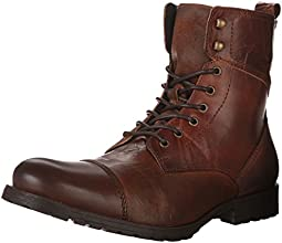 Aldo Men's Graegleah Derby Toe Cap Boot, Cognac, 10 D US
