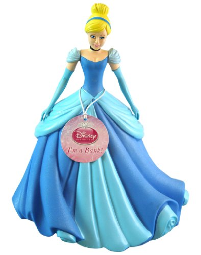 "Cinderella 11"" Molded Coin Bank - 1"