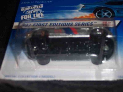 Hotwheels BMW M Roadster-1997 1st Edition Series #6 of 12 #518 - 1