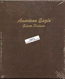 Dansco Coin Album #7181 for American Silver Eagles: 1986-Date by Dansco