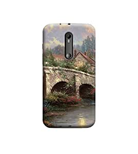 Ebby Premium Printed Back Case Cover With Full protection For Motorola Moto G3 (Designer Case)