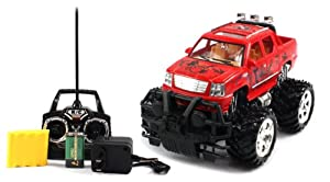BIG SIZE RECHARGEABLE Electric Full Function 1:16 Gallop Auto Cadillac Escalade EXT RTR RC Truck Remote Control (Colors May vary)