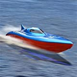 23 Balaenoptera Musculus Radio Remote Control Racing Boat (colors may vary)
