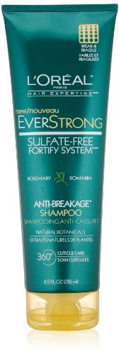 L'Oreal Paris Hair Expertise Everstrong Anti-Breakage Shampoo, 8.5 Fluid Ounce