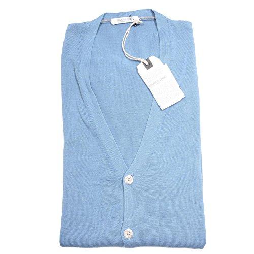 82630 cardigan OBVIOUS BY PAOLO PECORA COTONE maglia maglione uomo sweater [L]