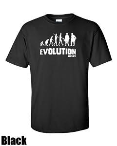 Evolution to Airsoft. Premium Flocked T-shirt/