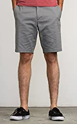 RVCA Men\'s The Week-End Stretch Short, Smoke, 32