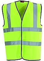 Blackrock Men's Hi-Vis Waistcoat - Yellow, Large