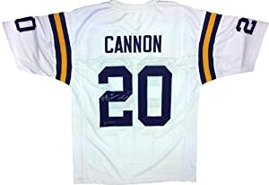 Billy Cannon Signed LSU Tigers White Custom Jersey Heisman