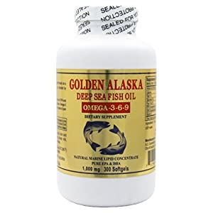 Golden Alaska Deep Omega-3 Fish Oil