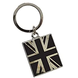 White Brick Union Jack Keyring by Tyler & Tyler