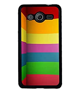 printtech Colored Abstract Lines Back Case Cover for Samsung Galaxy Core Prime G360