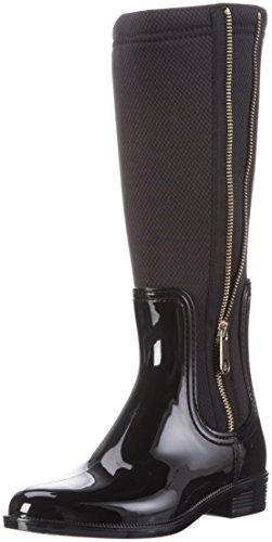Tommy HilfigerO1285DETTE 5R - Stivali alti Donna , Nero (Nero (black 990)), 40