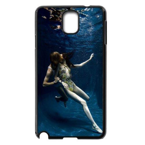 Samsung Galaxy Note 3 N9000 Kissing Phone Back Case Diy Art Print Design Hard Shell Protection Aq026711