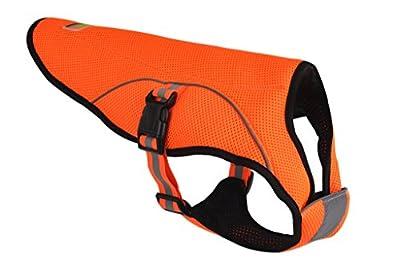 BINGPET Dog Cooling Jacket Evaporative Swamp Cooler Vest Reflective Safety Pet Hunting Harness