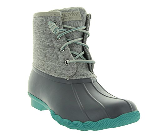 Sperry Top-sider Women's 'Saltwater' Duck Boot (7M, Grey/Natural)