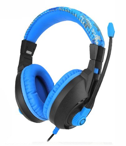 Cosonic® Ct-833 High-Quality Stereo Surround 5.1Ch Games Headphones Computer Headset Gaming Headsets Pc Earphone With Microphones