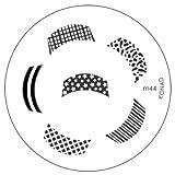Konad Image Plate Nail Art - M44