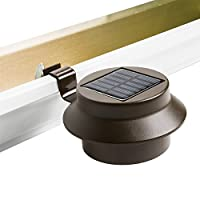 Solalite® Super Bright 3 LED Solar Powered Lights for Gutters or Garden Fences from Solalite