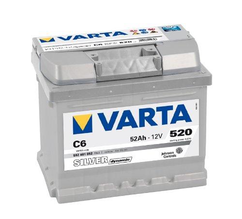VARTA SILVER DYNAMIC AUTOBATTERIE C6 12V 52AH