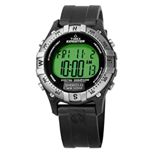 Timex Men's T49685 Digital Compass Resin Strap Expedition Watch
