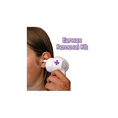 EARWAX REMOVAL KIT. Gentle microsuction removes earwax right out. With 4 Colour Coded Reusable Tips