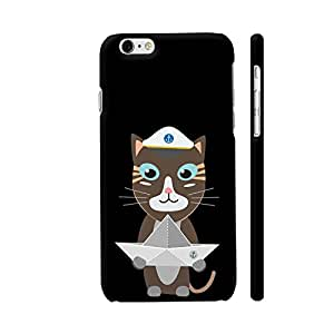 Colorpur Captain Cat With Paper Ship Artwork On Apple iPhone 6 Plus / 6s Plus Cover (Designer Mobile Back Case) | Artist: Torben
