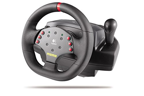 Logitech MOMO Force Feedback Racing Wheel (Logitech Steering Wheel Ps3 compare prices)
